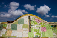 Keramisches Mosaik Stockbilder