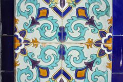 Keramisches Muster Stockfotos