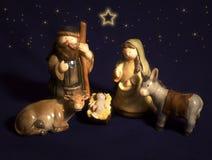 Keramisches Weihnachten lizenzfreie stockfotografie