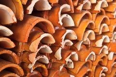 keramisk abstrakt bakgrund Royaltyfri Foto