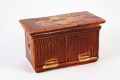 Keramisk casket Fotografering för Bildbyråer