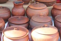 keramisk crockeryeps-jpg Royaltyfria Bilder