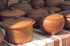 keramisk crockeryeps-jpg Royaltyfria Foton