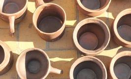 keramisk crockeryeps-jpg Arkivfoton