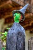 Keramisk docka av en trollkarl Royaltyfria Foton