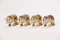 keramisk elefant Royaltyfri Foto