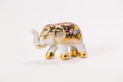 keramisk elefant Arkivbild