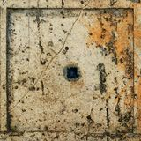 Keramisk Grunge belägger med tegel texturerar Arkivbild