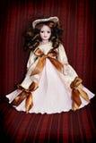 keramisk klassisk docka Arkivbild