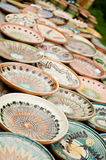Keramisk krukmakeri på Horezu Royaltyfri Fotografi