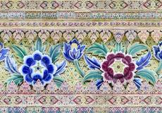 Keramisk mång- färgblomma Royaltyfria Foton