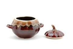 keramisk matlagninglockkruka Arkivfoto