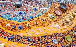 keramisk mosaik Arkivbilder