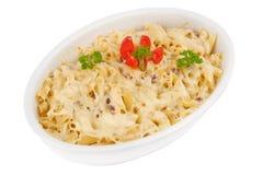 keramisk pasta för bunke Royaltyfri Fotografi
