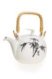 keramisk teapot Royaltyfria Foton