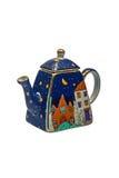keramisk teapot Royaltyfri Fotografi