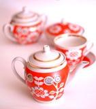 keramisk teapot Fotografering för Bildbyråer