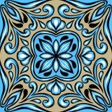 Keramisk tegelplatta för portugisisk azulejo vektor illustrationer