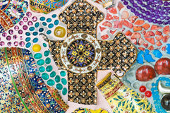 keramisk texturvägg Royaltyfri Bild