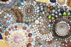 keramisk texturvägg arkivbilder
