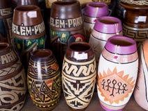 keramisk typisk vase arkivbild