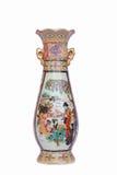 Keramisk vas för kinesisk stil Fotografering för Bildbyråer
