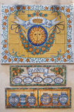 keramiska bilder för konst arkivfoto