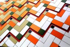 keramiska ceranic texturtegelplattor Arkivbilder