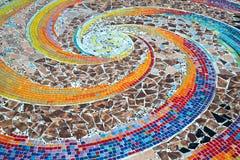 keramiska ceranic texturtegelplattor Royaltyfri Fotografi