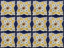 keramiska dekorativa tegelplattor Royaltyfri Bild