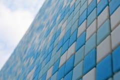 keramiska färgrika modelltegelplattor royaltyfria bilder