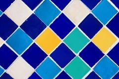 keramiska färgrika seamless tegelplattor Fotografering för Bildbyråer