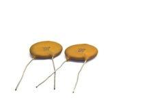 keramiska kondensatorer Royaltyfri Fotografi