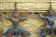 Keramiska skulpturer Royaltyfria Bilder
