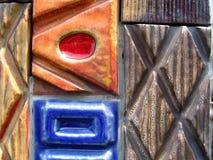 keramiska tegelplattor Arkivfoto