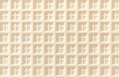 Keramiska tegelplattor används gemensamt i klassiska och moderna inre Arkivbild