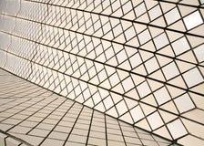 Keramiska tegelplattor på Sydney Opera House Fotografering för Bildbyråer