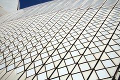 Keramiska tegelplattor på Sydney Opera House Royaltyfri Bild