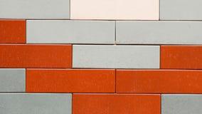 Keramiska väggtegelplattor för garneringen i badrummet Royaltyfri Bild