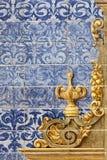 Keramiska väggtegelplattor i Seville, Spanien Fotografering för Bildbyråer