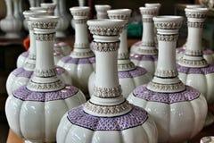 keramiska vases Royaltyfria Bilder