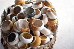 keramiskt askfat Arkivbild