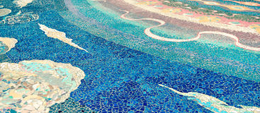 Keramiskt - mosaik royaltyfri bild