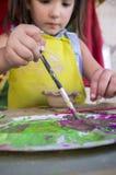 Keramiskt seminarium för barnbegrepp arkivbild