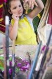 Keramiskt seminarium för barnbegrepp royaltyfria foton