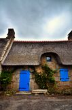 Kerascoet, traditional village in Brittany France Royalty Free Stock Image