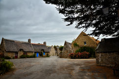 Kerascoet, traditional village in Brittany France Royalty Free Stock Photos