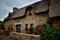 Kerascoet, traditional village in Brittany France Stock Photo