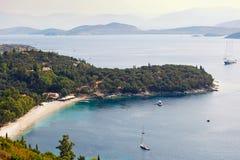 Kerasia en Corfú, Grecia Foto de archivo libre de regalías