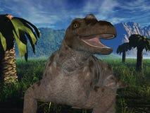 Keratocephalus - 3D Dinosaur Royalty Free Stock Image